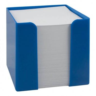 Werbe-Set: 108 Zettelboxen inkl. Bedruckung, Blau