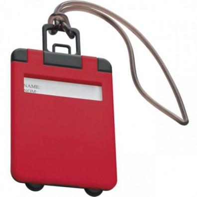 Kofferanhänger, Rot