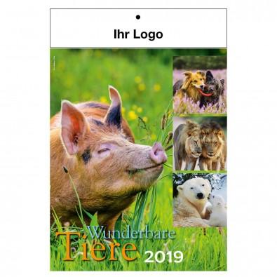 Bild-Wandkalender Wunderbare Tiere 2019