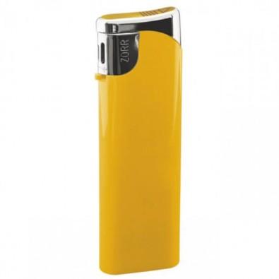 Piezo-Gasfeuerzeug Slim, Gelb