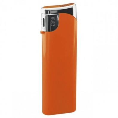 Piezo-Gasfeuerzeug Slim, Orange