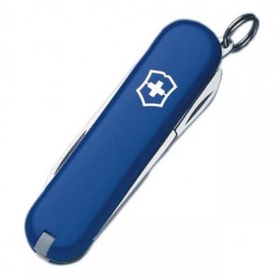 Original Victorinox Taschenmesser Classic SD, 7 Funktionen Blau