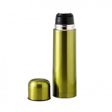 Isolierkanne Mono Limettengrün-Metallic | 0,5l