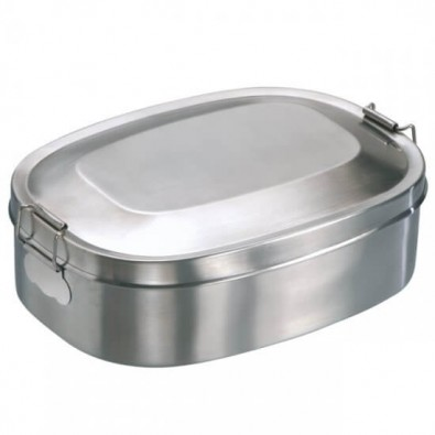 Edelstahl-Universaldose, klein, klein, 16x12x5cm