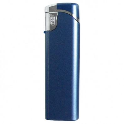 Elektronik-Feuerzeug Blau/Metallic