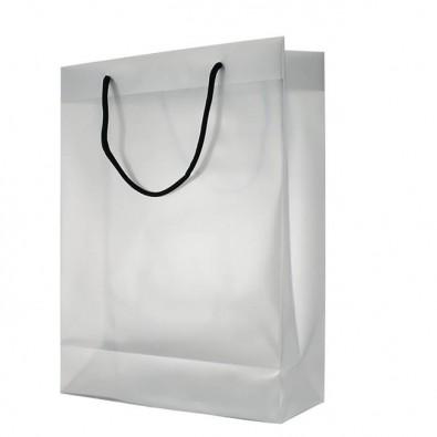 Kunststofftasche Lilli Weiß/Transparent | Gross