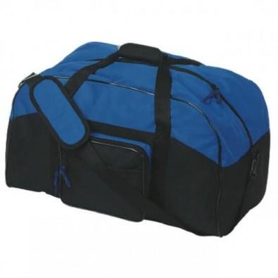 Sport- und Reisetasche Schwarz/Blau