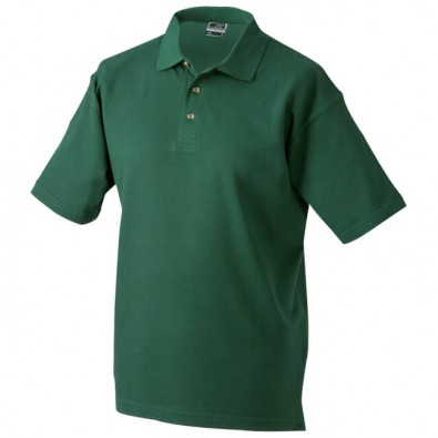 Original James  Nicholson Polo-Shirt, Dunkelgrün, M