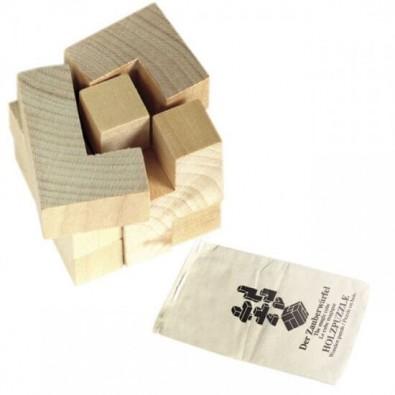 Holzpuzzle-Set Würfel
