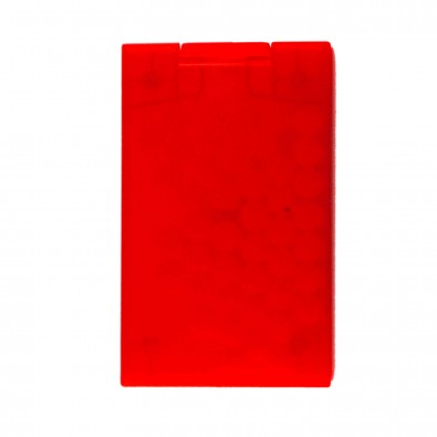 Cool-Card (Mint-Box), Rot/Transparent