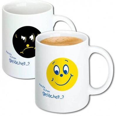 Werbetassen mit Smiley - BETTMER Erfolgreiche Werbeartikel