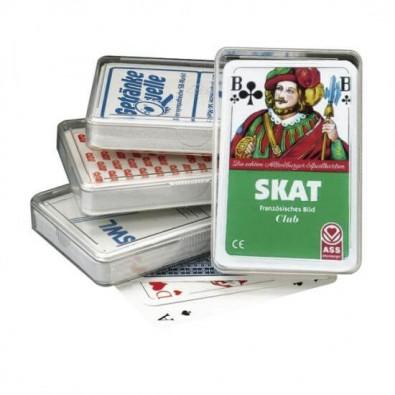Skat-Spiel Druck auf Klarsichtetui