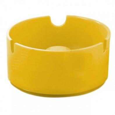 Stapel-Aschenbecher Gelb