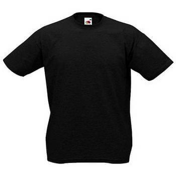 Original Fruit of the Loom® T-Shirt Valueweight T, Schwarz, XXL