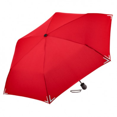 Fare® Multifunktions-Taschenschirm Rot