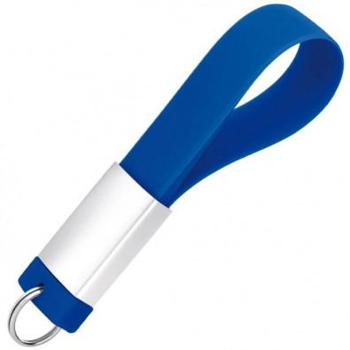 Design-Schlüsselanhänger mit USB-Stick, Blau, 4 GB