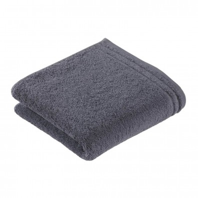 Vossen Hand-/Duschtuch Calypso Feeling Grau  | Handtuch
