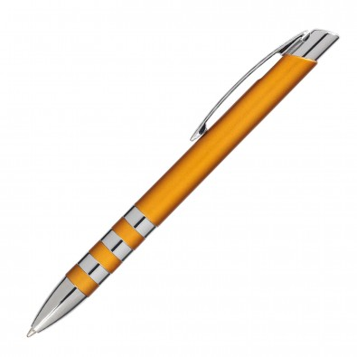 Kugelschreiber Nashville Orange/Metallic