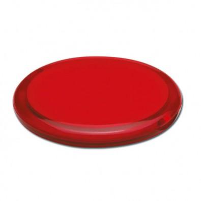 Taschenspiegel, Rot/Transparent