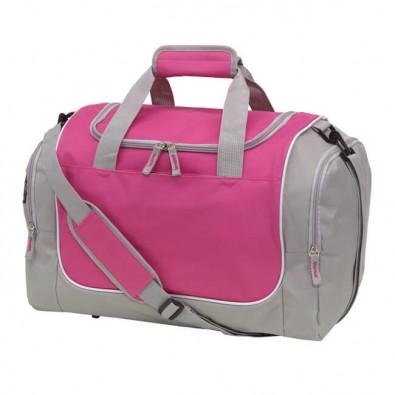 Sport-Reisetasche Activity Grau/Pink