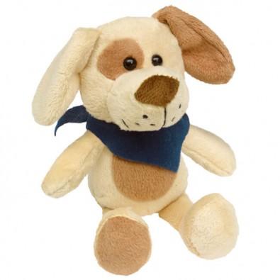 Plüsch-Tiere Fluffy Hund Halstuch Blau