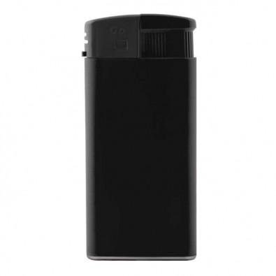 Piezo-Feuerzeug XL, Schwarz/Matt