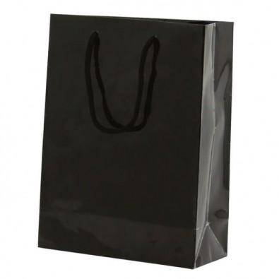 papiertasche paper gross schwarz. Black Bedroom Furniture Sets. Home Design Ideas