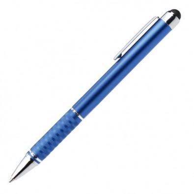 Metall-Touch-Kugelschreiber Halifax, Blau