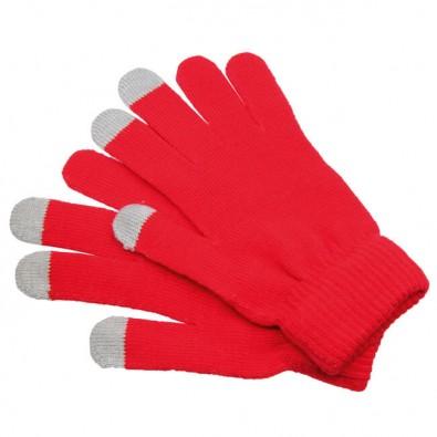 Handschuhe Touch Rot