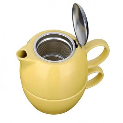 Tee-Set 2 in 1 Gelb