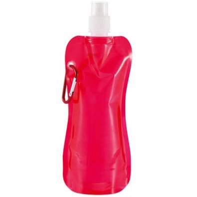 Faltbare Wasserflasche Rot