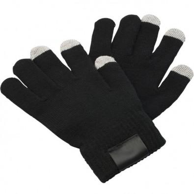 Handschuhe Touch, Schwarz