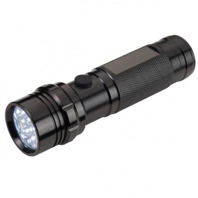 Metall-Taschenlampe mit 14 LEDs
