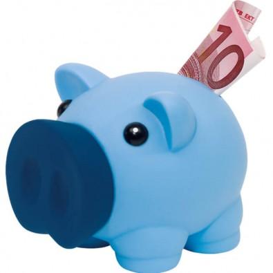 Sparschwein Piggy Blau