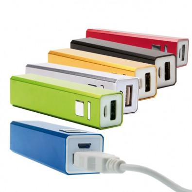 Metall-Ladegerät Powerbank, individueller Farbton