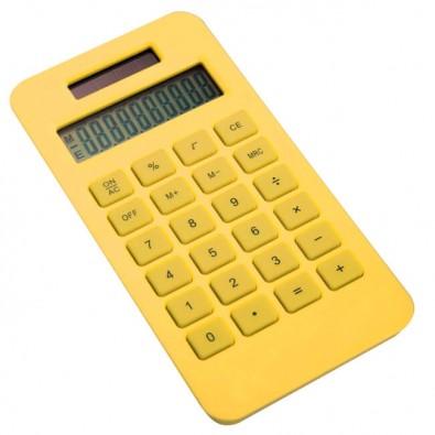 Solar-Taschenrechner aus PLA Gelb