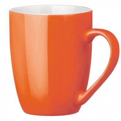 Tasse Gloria Orange/Weiß