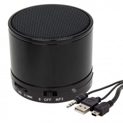 Bluetooth-/MP3-Lautsprecher Soundbox, Schwarz