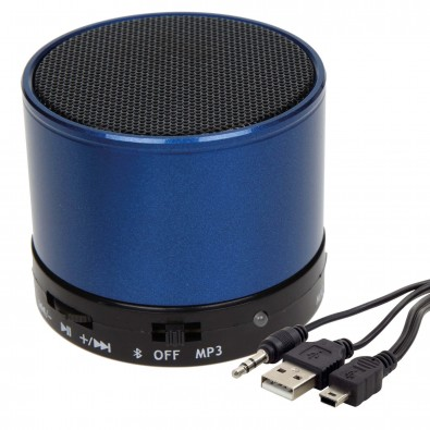 Bluetooth-/MP3-Lautsprecher Soundbox, Blau