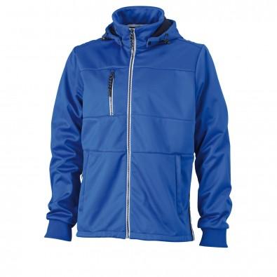 Original James & Nicholson Maritime-Jacke für Herren Nautic-Blue/Navy-White | M