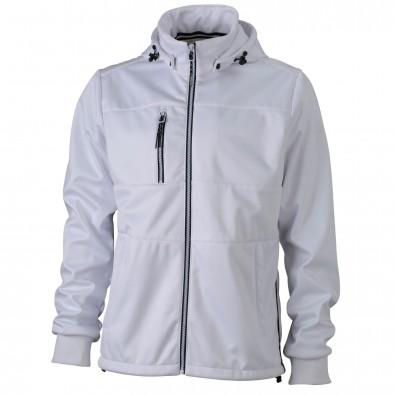 Original James  Nicholson Maritime-Jacke für Herren, White/White/Navy, XL