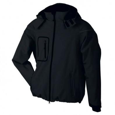 Original James   Nicholson Softshell-Jacke für Herren Black   L ... 103048d883