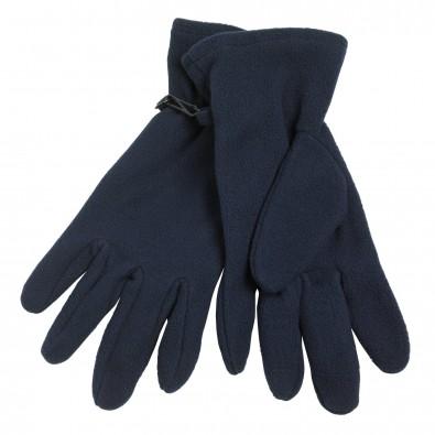 Microfleece-Handschuhe, navy, S/M