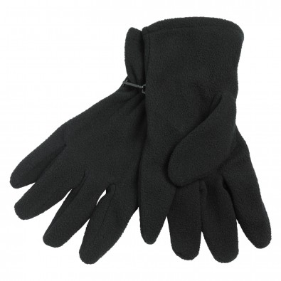 Microfleece-Handschuhe, Schwarz, M