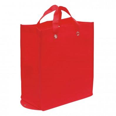 Faltbare Vlies-Einkaufstasche Amica Rot