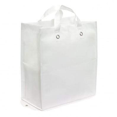 Faltbare Vlies-Einkaufstasche Amica, Weiß