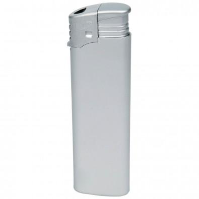 Piezo-Feuerzeug Atomic Silber