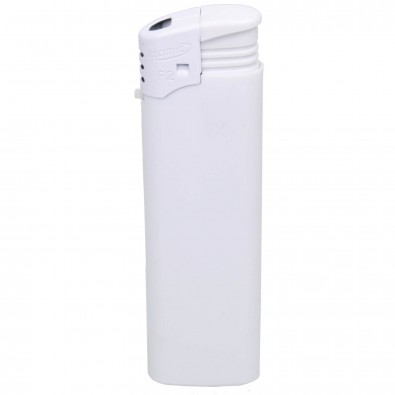 Piezo-Feuerzeug Atomic, Weiß