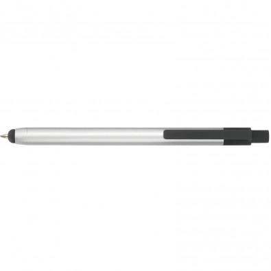 Touch-Metallkugelschreiber Touch Point Silber