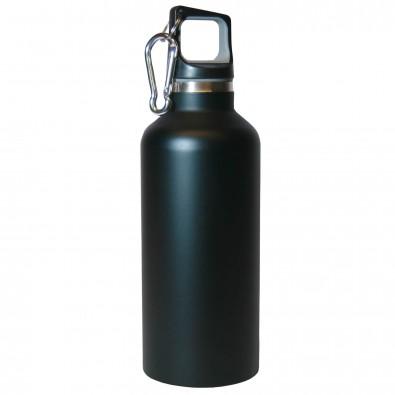 Vakuum-Isolierflasche Bottle Schwarz-Matt